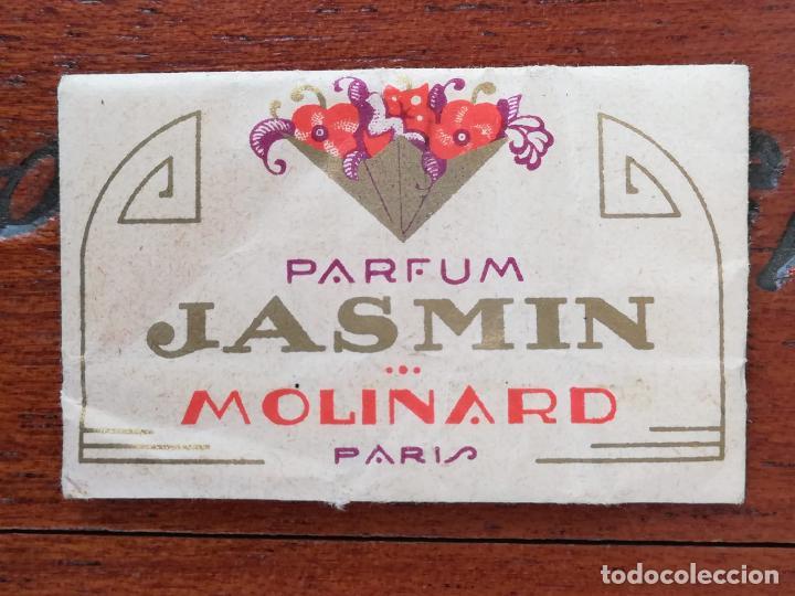 MUESTRA PERFUME JASMIN MOLINARD ALMACENES HINOJAL ALICANTE (Coleccionismo - Miniaturas de Perfumes)
