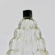 Miniaturas de perfumes antiguos: BOTELLA DE CRISTAL PARA PERFUME.PUIG. ART DECO.MEDIADOS DE SIGLO XX.. Lote 151745866