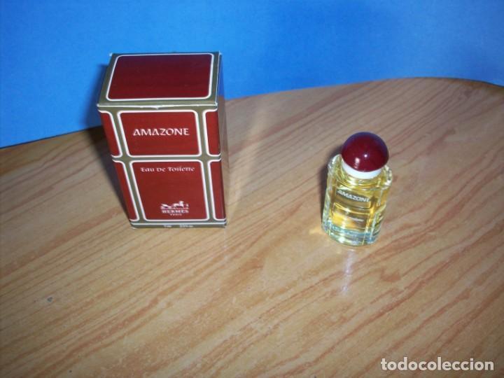 Miniaturas de perfumes antiguos: perfume amazone - Foto 2 - 152168678