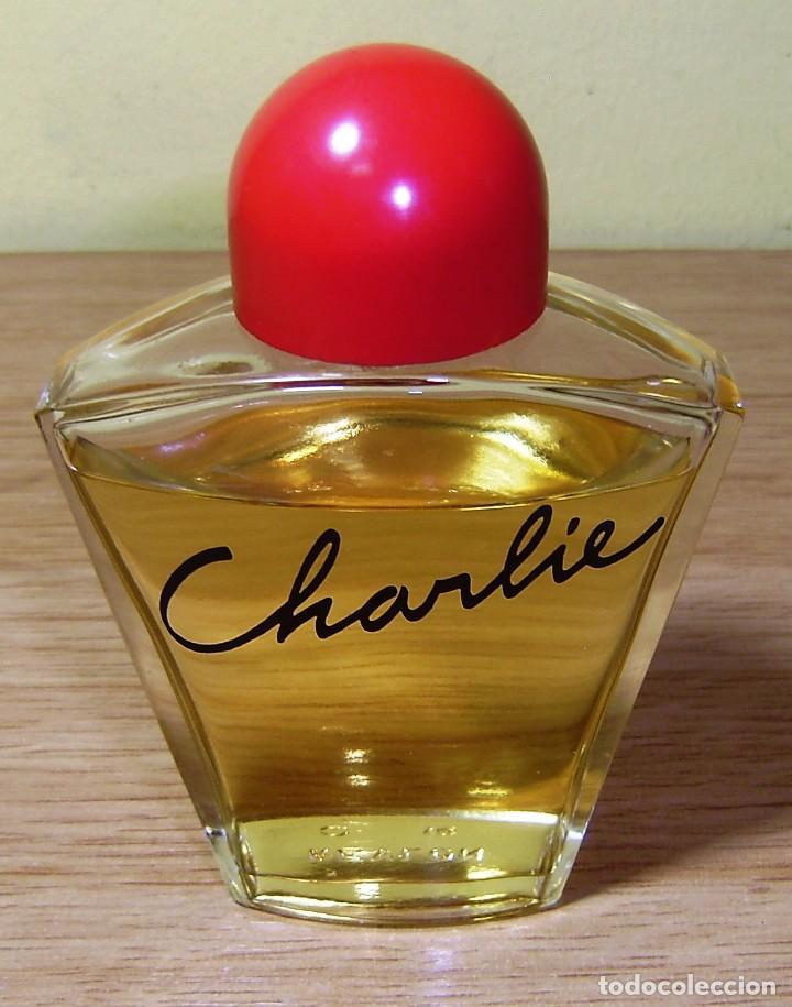Miniaturas de perfumes antiguos: Frasco de colonia perfume Charlie de Revlon.100 ml. - Foto 2 - 152229890