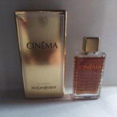 Miniaturas de perfumes antiguos: MINIATURA PERFUME CINÉMA YVES SAINT LAURENT. Lote 152382174