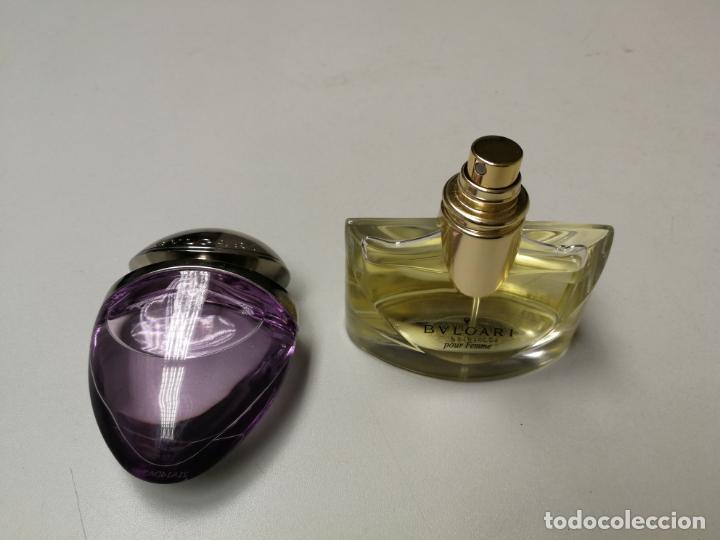 2 Botellas Perfume Bvlgari Pour Femme Y Omnia Buy Miniatures Of