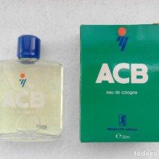 Miniaturas de perfumes antigos: COLONIA ACB 30 ML A ESTRENAR - PRODUCTO OFICIAL - DE PRINCIPIOS DE LOS 90. Lote 154342226