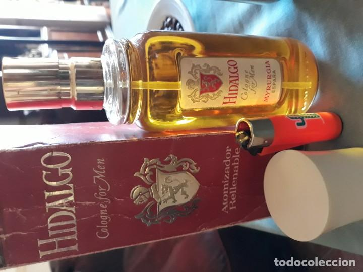 Miniaturas de perfumes antiguos: Hidalgo cologne for men N° 767 Myrurgia - Foto 2 - 154497418