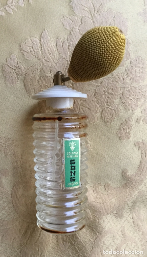 Miniaturas de perfumes antiguos: ANTIGUO FRASCO DE COLONIA PERFUME GONG DE PARERA - Foto 12 - 120817876