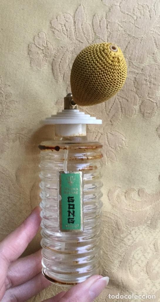 Miniaturas de perfumes antiguos: ANTIGUO FRASCO DE COLONIA PERFUME GONG DE PARERA - Foto 18 - 120817876