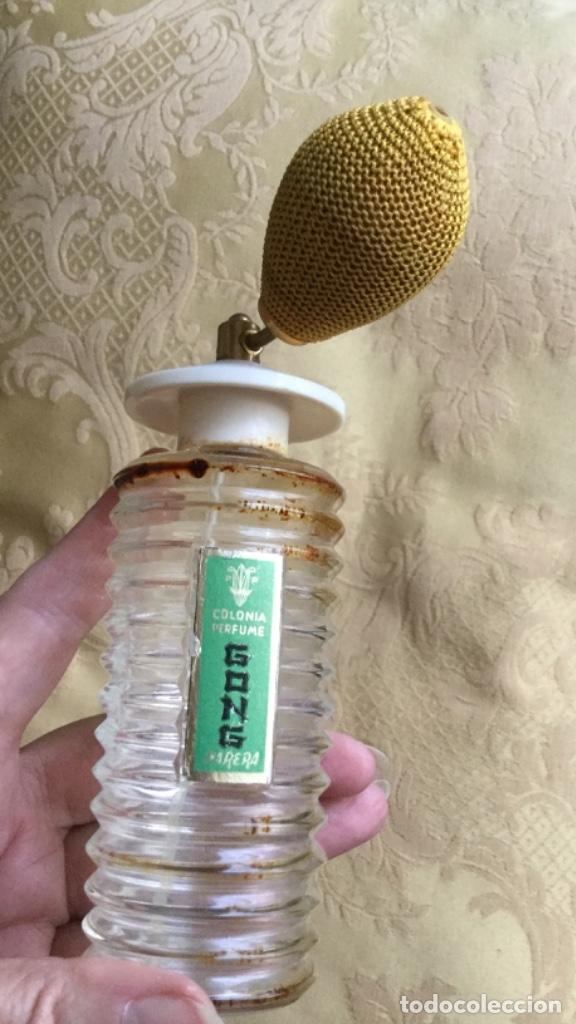 Miniaturas de perfumes antiguos: ANTIGUO FRASCO DE COLONIA PERFUME GONG DE PARERA - Foto 17 - 120817876