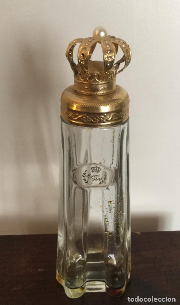 Miniaturas de perfumes antiguos: ANTIGUO FRASCO DE PERFUMEN MYRNA PONS - Foto 11 - 121514606