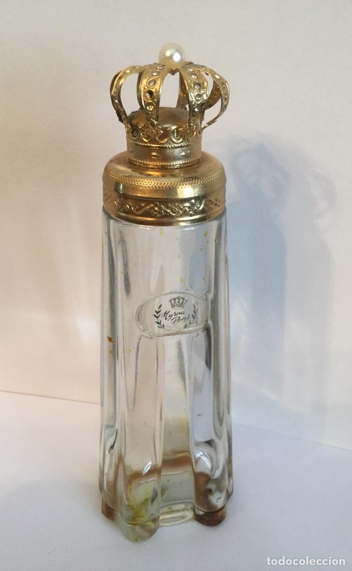 Miniaturas de perfumes antiguos: ANTIGUO FRASCO DE PERFUMEN MYRNA PONS - Foto 2 - 121514606