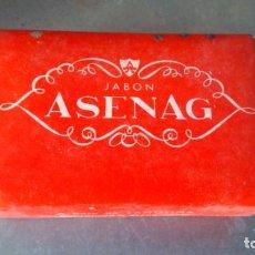 Miniaturas de perfumes antiguos: ANTIGUO JABÓN ASENAJ NUEVO AÑOS 60. Lote 155694818