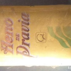 Miniaturas de perfumes antiguos: ANTIGUO JABÓN HENO DE PRAVIA AÑOS 80. Lote 155695038