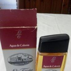 Miniaturas de perfumes antiguos: COLONIA LA TOJA. Lote 156605466