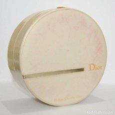 Miniaturas de perfumes antiguos: CAJA ESTUCHE REDONDO PARFUMS CHRISTIAN DIOR. Lote 156772534