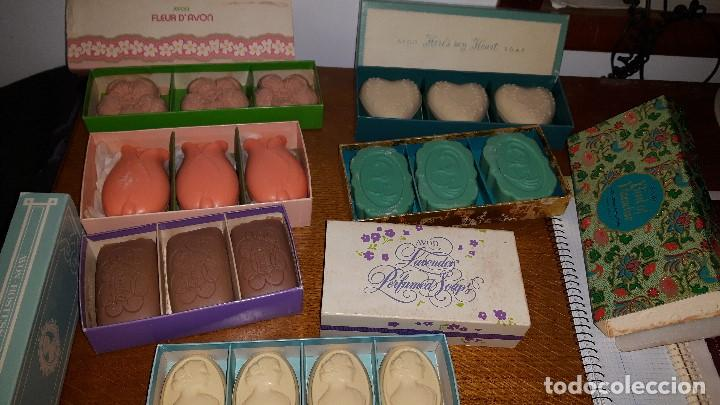 LOTE JABONES AVON (Coleccionismo - Miniaturas de Perfumes)