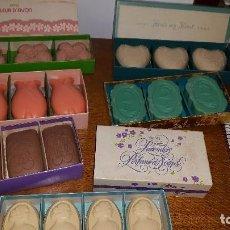 Miniaturas de perfumes antiguos: LOTE JABONES AVON. Lote 157480658