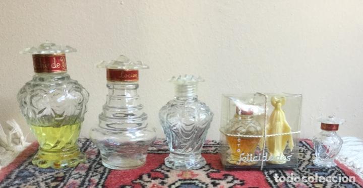 Miniaturas de perfumes antiguos: LOTE DE ANTIGUOS FRASCOS PERFUME PELIK AÑOS 50-60 - Foto 5 - 158903366