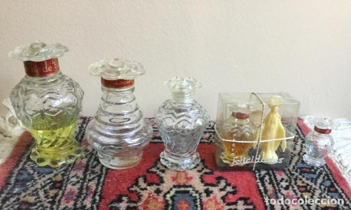 Miniaturas de perfumes antiguos: LOTE DE ANTIGUOS FRASCOS PERFUME PELIK AÑOS 50-60 - Foto 6 - 158903366