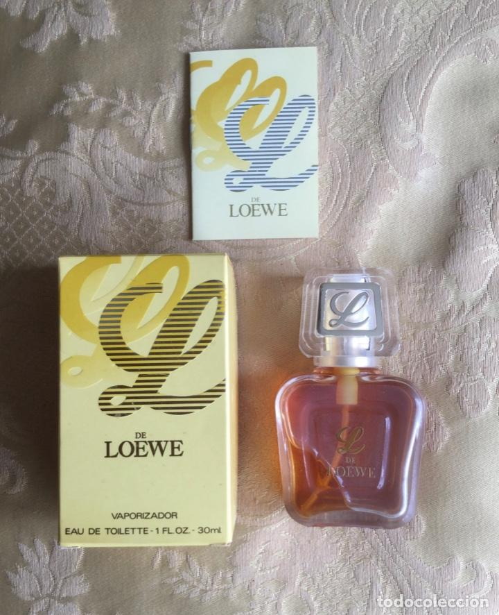 Frasco Eau De Toilette L De Loewe Años 80 Buy Miniatures Of Old