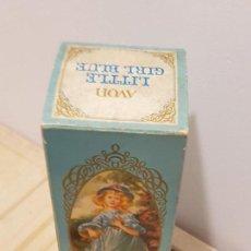Miniaturas de perfumes antiguos: JABON LITTLE GIRL BLUE AVON VERSION ESPAÑOLA. Lote 159154882