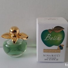Miniaturas de perfumes antiguos: MINIATURA BELLA DE NINA RICCI. Lote 160669330