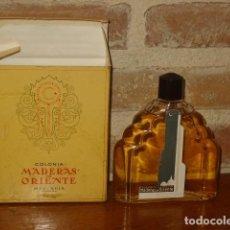 Miniaturas de perfumes antiguos: COLONIA MADERAS DE ORIENTE 90 ML DE MYRURGIA.. Lote 194598945