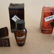 Échantillons de parfums anciens: TABAC. 2 MINIATURAS BY ORIGINAL EXTREME EAU DE TOILETTE Y EAU DE COLOGNE. Lote 161268114