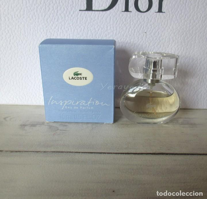 c171b5ab1b 2 fotos MINIATURA DE PARFUM LACOSTE INSPIRATION 15ML VAPORIZADOR  (Coleccionismo - Miniaturas de Perfumes) ...