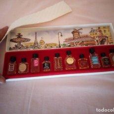Miniaturas de perfumes antiguos: COLECCION DE PERFUMES.GRANDES PARFUMS DE FRANCE. CHARLES V FRANCE,1950/60. Lote 161298918
