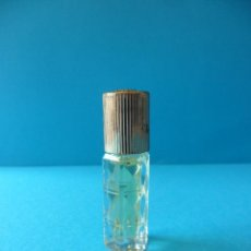 Miniaturas de perfumes antiguos: MINIATURA DE PERFUME VINTAGE SIN IDENTIFICAR POSIBLEMENTE DE LOS AÑOS 60/70. Lote 161808954