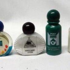 Miniaturas de perfumes antiguos: LOTE DE 9 MUESTRAS DE GEL DE HOTELES, VER FOTOS. Lote 164656054