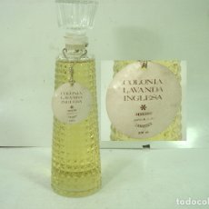 Échantillons de parfums anciens: PRECINTADA¡¡ LAVANDA INGLESA SAPHIR ZARAGOZA-ANTIGUA COLONIA 350 ML-BOTELLA FRASCO PERFUME LA VANDA . Lote 166053542