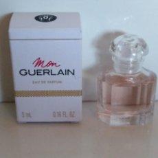 Miniaturas de perfumes antiguos: MINIATURA PERFUME MON GUERLAIN EAU DE PARFUM. Lote 166542098