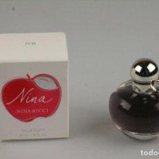 Miniaturas de perfumes antiguos: MINIATURA NINA RICCI NINA EDT 4 ML. Lote 166682986