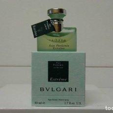 Miniaturas de perfumes antiguos: EAU PARFUMEE AU THE VERT EXTREME BY BVLGARI 50ML. *DISCONTINUED VINTAGE*. Lote 166723334