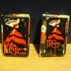 Miniaturas de perfumes antiguos: PASTILLAS DE JABON MAJA - MYRURGIA. Lote 167563772