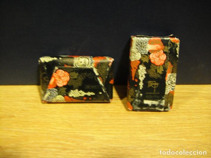 Miniaturas de perfumes antiguos: pastillas de jabon maja - myrurgia - Foto 2 - 167563772