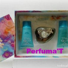 Miniaturas de perfumes antigos: L DE LOLITA BY LOLITA LEMPICKA SET EDP 50ML + BODY LOTION 50ML + SHOWER GEL 50ML. Lote 167592708