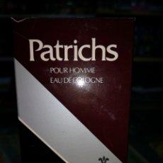 Miniaturas de perfumes antiguos: PATRICHS COLONIA 120ML.COLONIA LLENA, SIN USAR. Lote 167875465