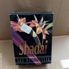 Miniaturas de perfumes antiguos: COLONIA VINTAGE SHADAI. PRÁCTICAMENTE LLENA.. Lote 169018702