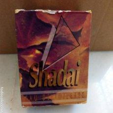 Miniaturas de perfumes antiguos: COLONIA VINTAGE SHADAI. CON BASTANTE LIQUIDO.. Lote 169018885