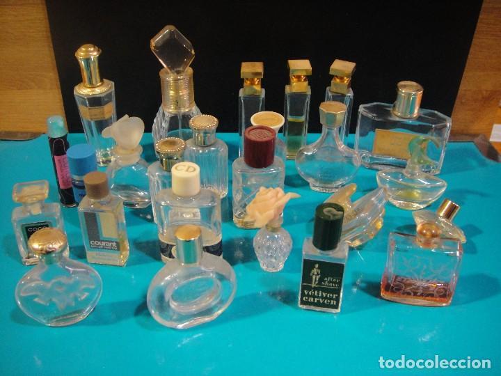 MINIATURAS DE PERFUMES 25 UNIDADES , PRIMERAS MARCAS - VACIAS (Coleccionismo - Miniaturas de Perfumes)