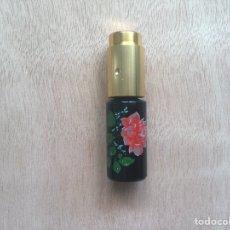 Miniaturas de perfumes antiguos: PULVERIZADOR PERFUME PORCELANA LUXUS. Lote 169410634