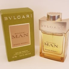 Miniaturas de perfumes antiguos: NOVEDAD 2019 !!! MINIATURA BVLGARI MAN WOOD NEROLI EDP 15 ML. Lote 170081276