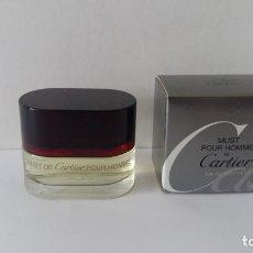 Miniaturas de perfumes antiguos: MINIATURA MUST POUR HOMME DE CARTIER . Lote 170418336