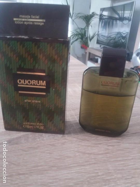 AFTER SHAVE QUORUM (Coleccionismo - Miniaturas de Perfumes)