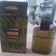 Miniaturas de perfumes antiguos: AFTER SHAVE QUORUM. Lote 170427060