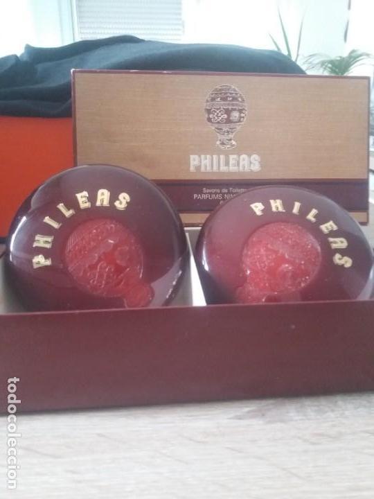 PRECIOSOS JABONES PHILEAS NINA RICCI (Coleccionismo - Miniaturas de Perfumes)