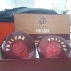 Miniaturas de perfumes antiguos: PRECIOSOS JABONES PHILEAS NINA RICCI. Lote 170508992