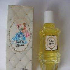 Miniaturas de perfumes antiguos: AGUA DE COLONIA DE FRAGANCIA SEÑORIAL ISABEL MARÍA AÑOS 70 VERA BARCELONA EN CAJA SIN ABRIR. Lote 194320426