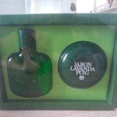 Miniaturas de perfumes antiguos: CONJUNTO LAVANDA PUIG. Lote 170703735